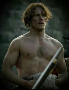 outlander jamie warrior