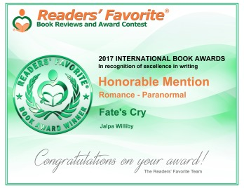 FAte's Cry certificate for honorable mention
